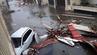 """Auf Saint-Martin hinterließ Hurricane """"Irma"""" schlimmste Verwüstungen und Überschwemmungen."""