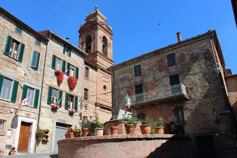 Der kleine Ort Monteleone d'Orvieto mit nur etwa 1300 Einwohnern befindet sich in Umbrien – dem grünen Herz Italiens.
