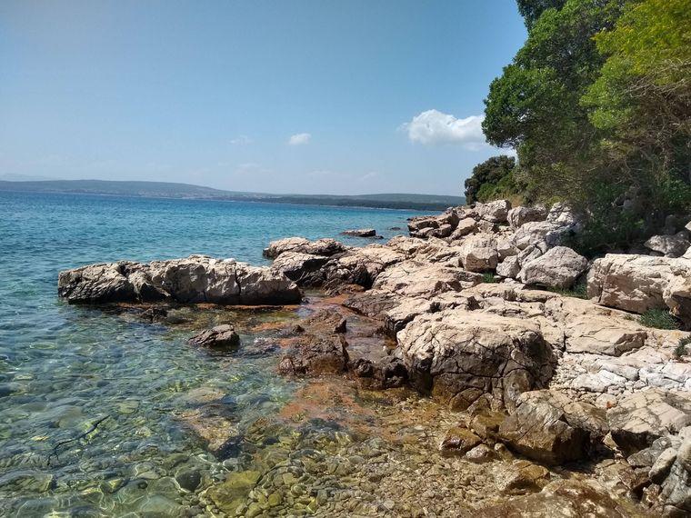 Kroatien ist ebenfalls bekannt für seine wilden Traumstrände.