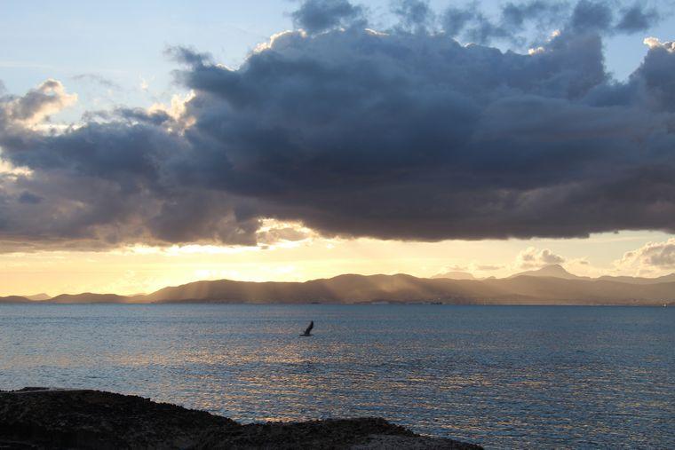 Sundowner nahe dem Ballermann: Mallorca kann schon ziemlich schön sein.