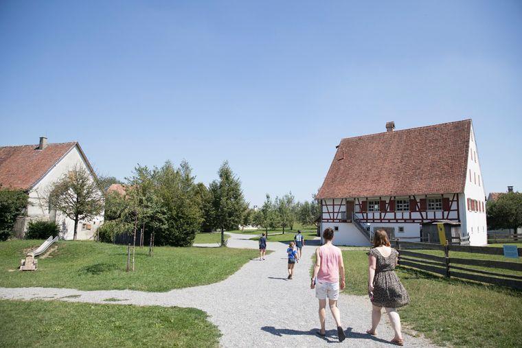 Vor allem Familien mit Kindern lieben das Museumsdorf Kürnbach.