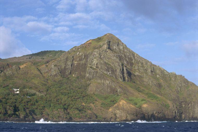Die Insel Pitcairn ist nur schwer zugänglich – und vielleicht gerade deshalb corona-frei.