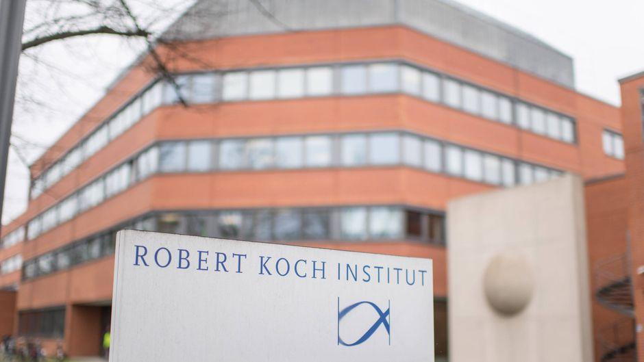 Das Robert-Koch-Institut in Berlin. (Symbolbild)