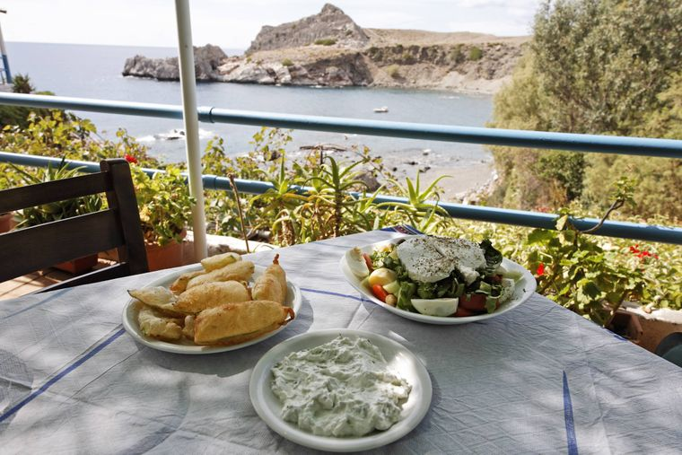 Tyropittakia gibt es nur auf Kreta.