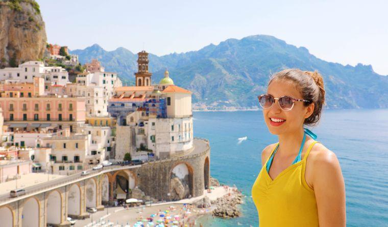 Das Dorf Atrani an der Amalfi-Küste eignet sich für perfekte Instagram-Fotos.