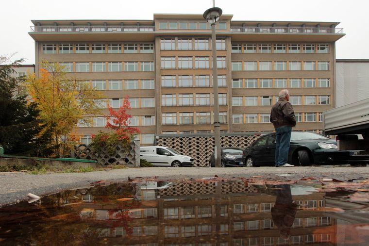 Ministerium für Staatssicherheit und jetziges Stasi Museum in der Normannenstraße in Berlin