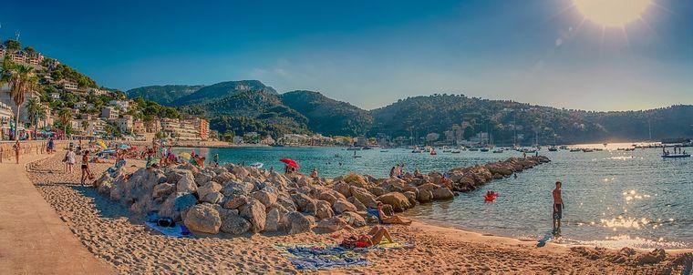 Mallorca: Die beliebteste Insel der Deutschen ist im Frühjahr noch nicht so stark besucht, wie im Hochsommer.