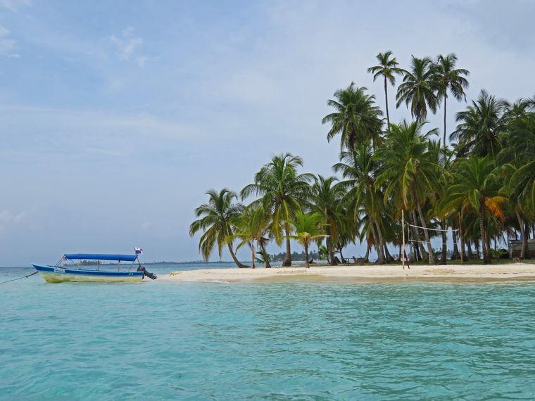 Inselhopping auf den San-Blas-Inseln.