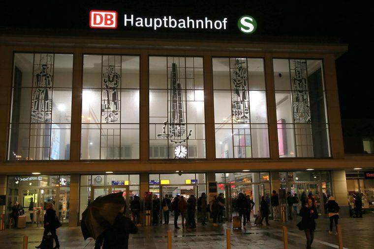 09.02.2020 Dortmund, Dortmunder Hauptbahnhof.