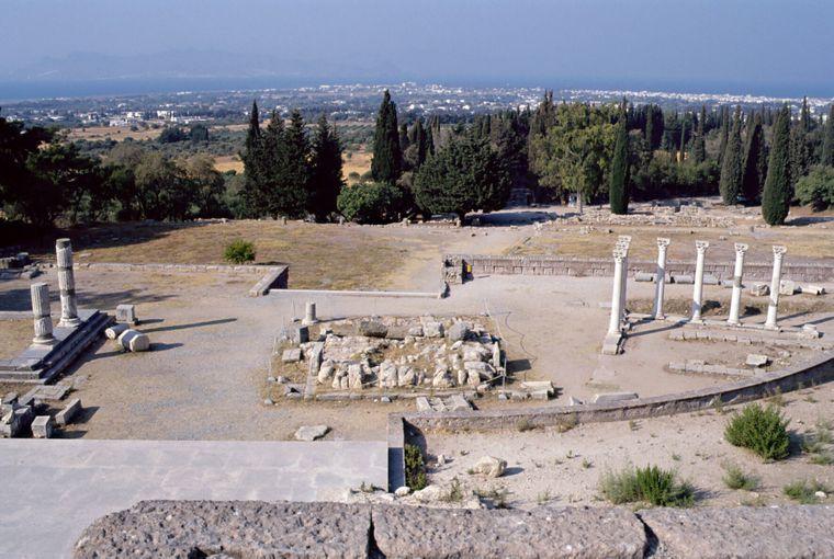 Vor den Toren von Kos-Stadt steht das Asklepieion, in der Antike bekannt als größtes Krankenhaus Griechenlands.