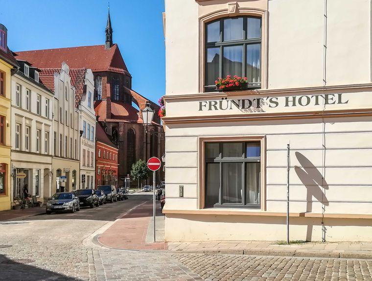 Stilvoll und historisch ist das Fründts Hotel.