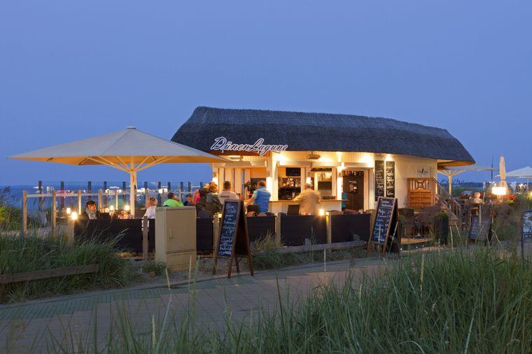 """Viele Restaurants in der Holsteiner Bucht empfangen wieder Gäste, darunter auch das """"Kleine Steakhaus"""" am Strand von Scharbeutz"""