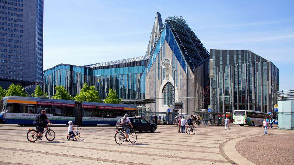 Der Leipziger Augustusplatz.