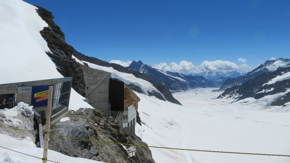 Das Jungfraujoch - Top of Europe.