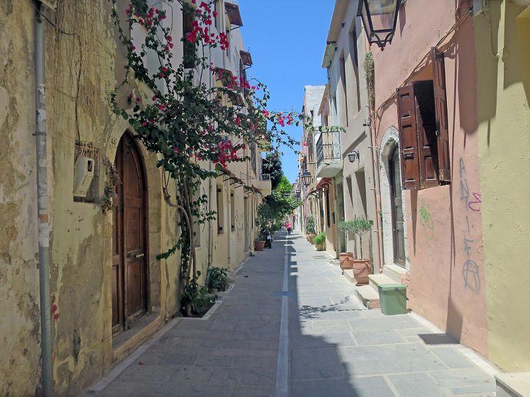 Rethymno – eine wunderschöne Hafenstadt im Norden der griechischen Insel Kreta.