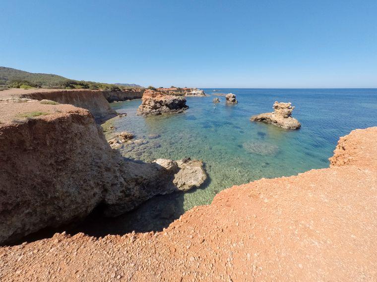 Strand, Pou des Lleó, Ibiza