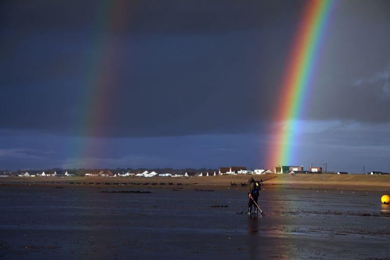 In Norfolk kommen Regenbögen häufiger vor.