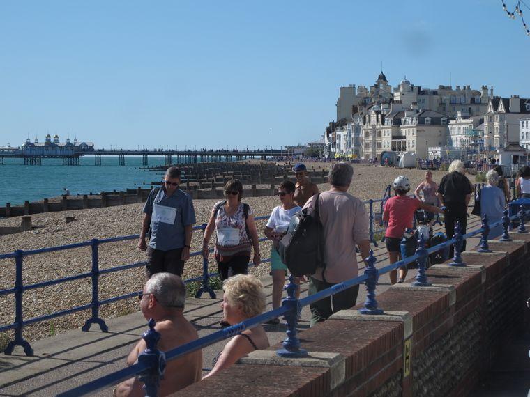In Eastbourne genießen viele Rentner ihren Lebensabend.