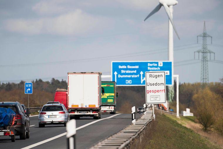 Die Insel Rügen ist für Touristen gesperrt, so wie alle Nord- und Ostseeinseln aktuell.