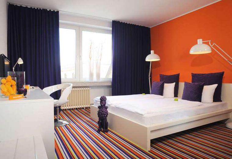 Zimmer im Hotel friends Downtown.