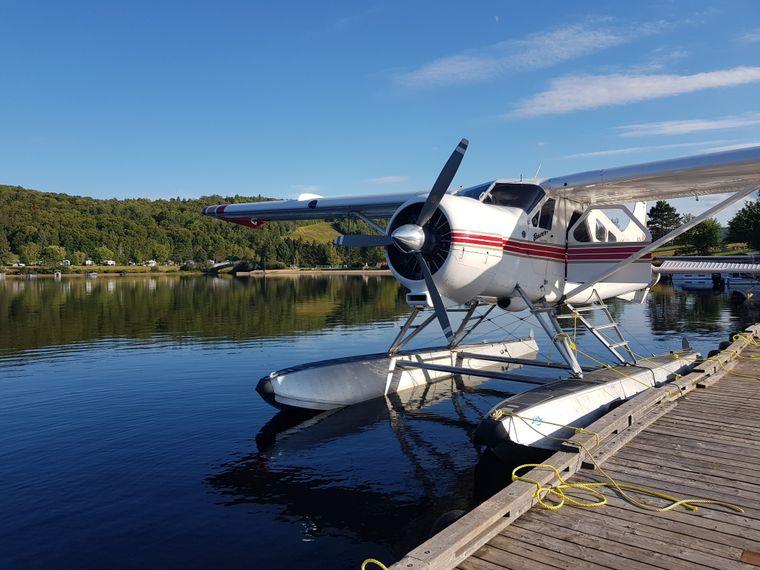 Mit einer Beaver über die Seen und Wälder hinweggleiten: ein besonderes Erlebnis in der kanadischen Provinz Québec.