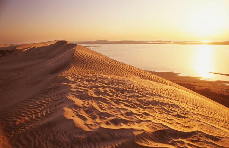 Qatar - Binnenmeer.