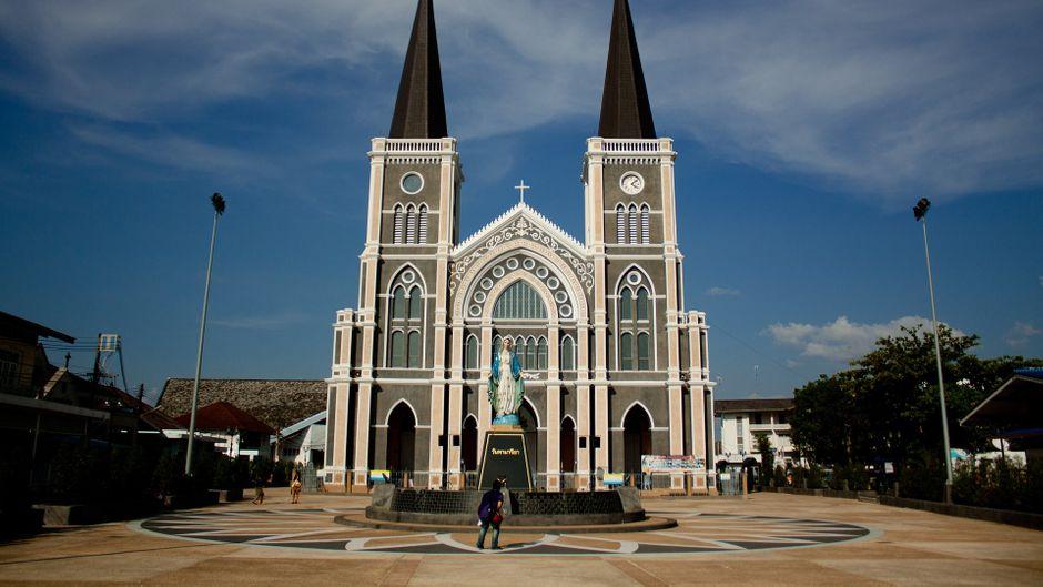 Kirchen in Thailand - das christentum ist hier kaum vertreten