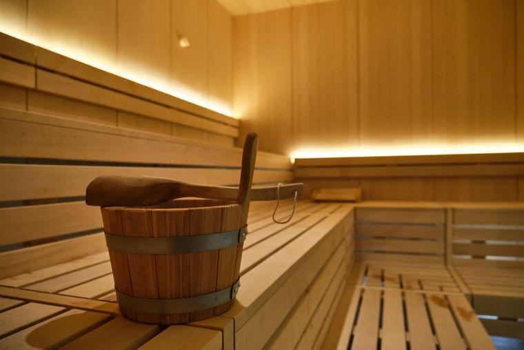 Saunabereich des Sonnenresort Ettershaus