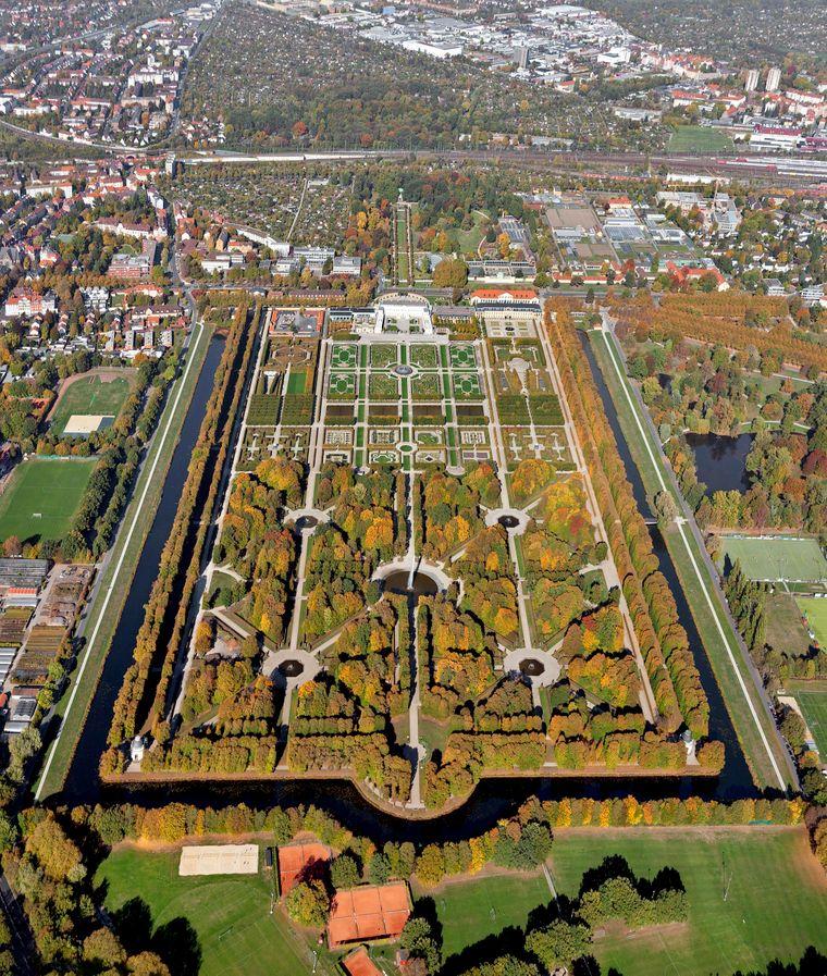 Großer Garten, Herrenhäuser Gärten.