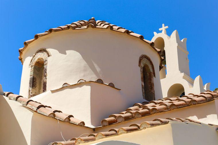 Die älteste Kirche auf Santorini ist die Panagia Episkopi.