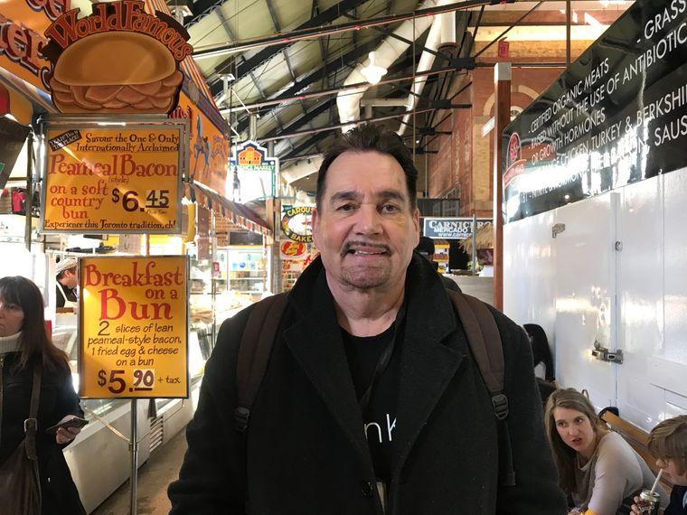 Bruce Bell kennt sich besonders gut in der Altstadt der Metropole Toronto aus.
