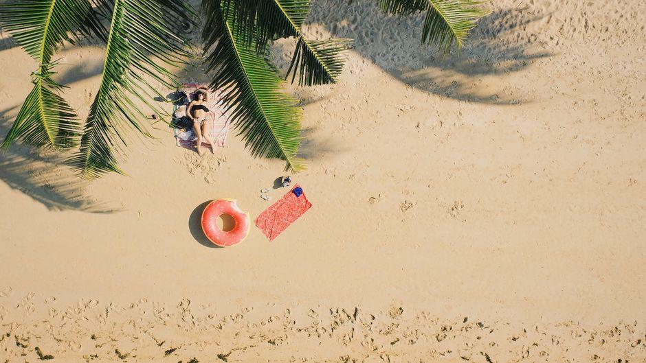 Ein Strand ganz für dich allein.