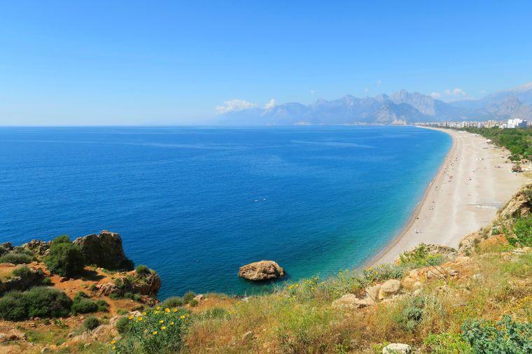 Die Türkische Riviera bietet zahlreiche schöne Urlaubsorte.