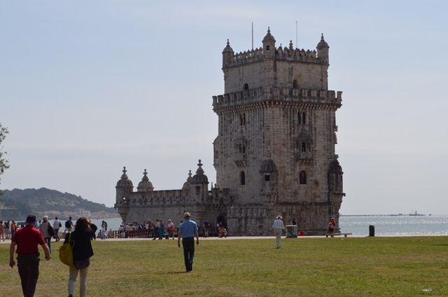 Eines der bekanntesten Wahrzeichens Lissabon: Der Turm von Belém.