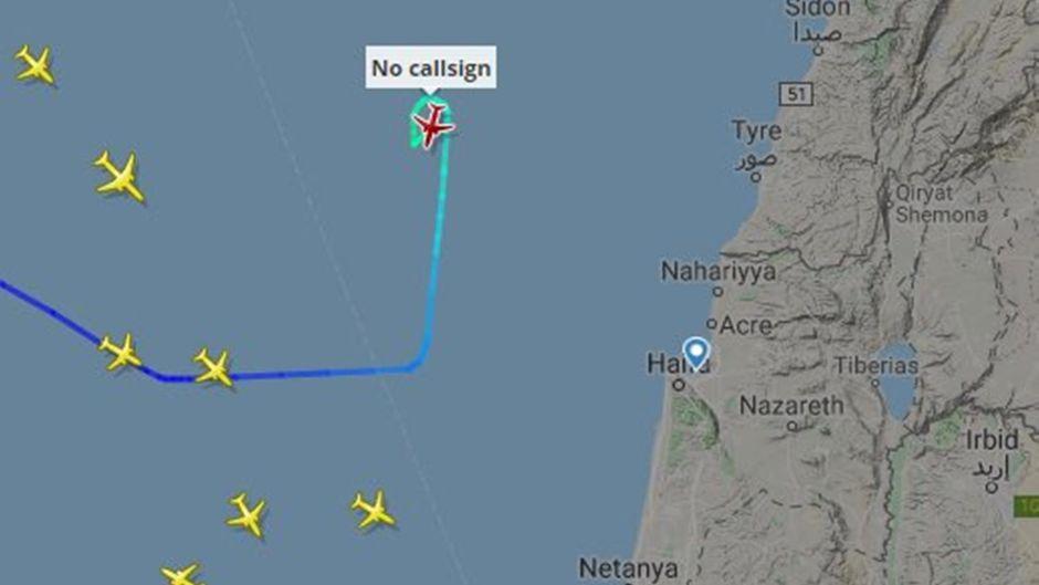 Das Passagierflugzeug hat vor der Notlandung noch Kraftstoff abgelassen.