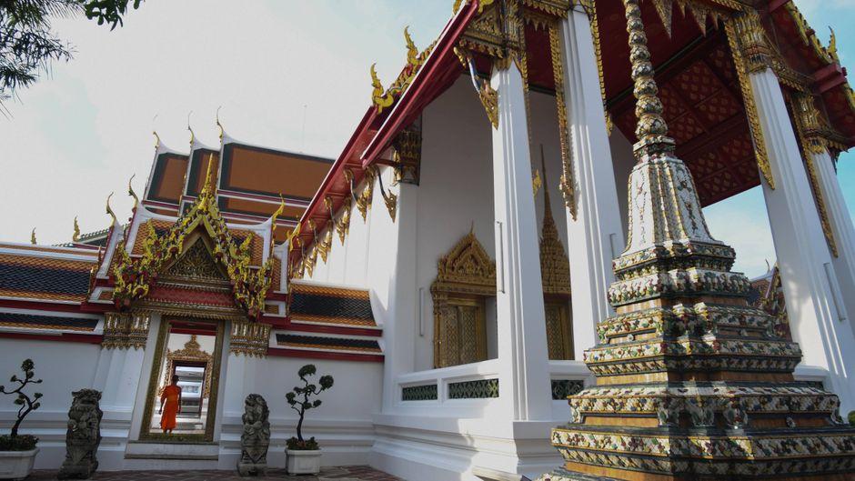 Wat Pho: Beeindruckende Tempel-Anlage in Bangkok.