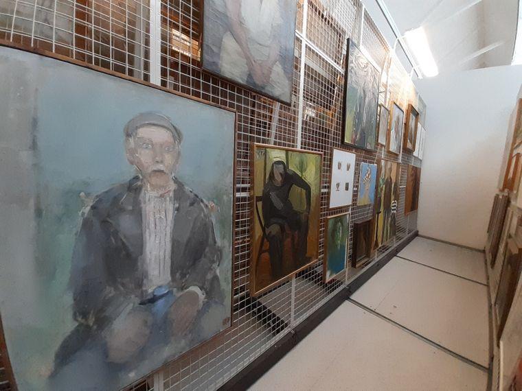 Selbst das Archiv im Kunstmuseum Vandalorum ist umfangreich.