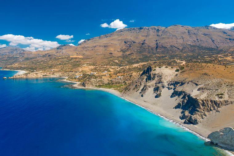 Die Strände auf Kreta sind auch im Winter eine Reise wert.