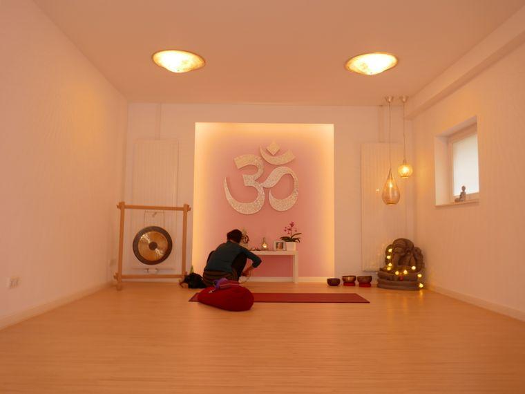 Im Yogaraum Juist findest du zu deiner inneren Mitte.