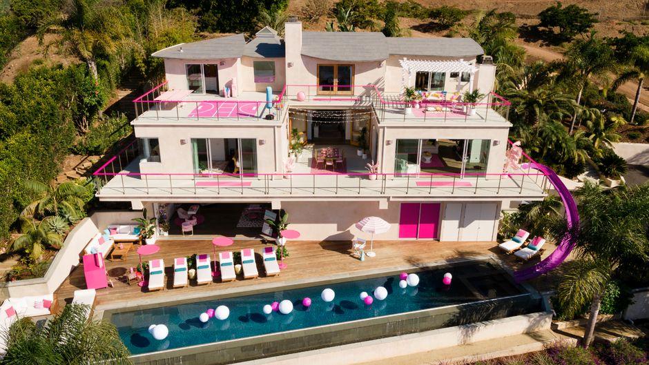 Willkommen bei Barbie: Diese Traumvilla kannst du bald bei Airbnb buchen.