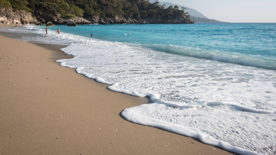 Der Patara Beach im beliebten türkischen Urlaubsort Antalya zieht auch viele deutsche Urlauber an.