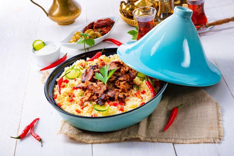 Ein Gericht aus Marokko.