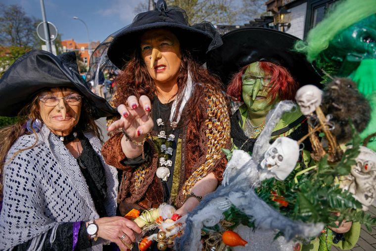 Hexen, Teufel und andere Fabelwesen treiben ihr Unwesen in der Walpurgisnacht.