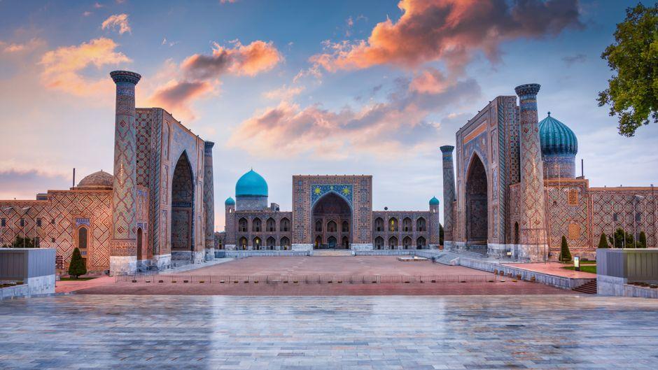 Komm mit auf eine Reise in das bisher gut gehütete Geheimnis zwischen China und Russland: Usbekistan.