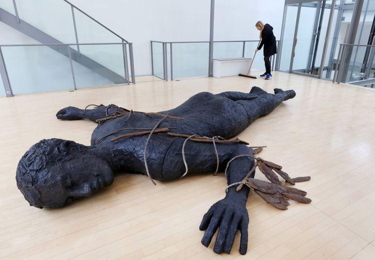 Skulptur von Stephan Balkenhol.