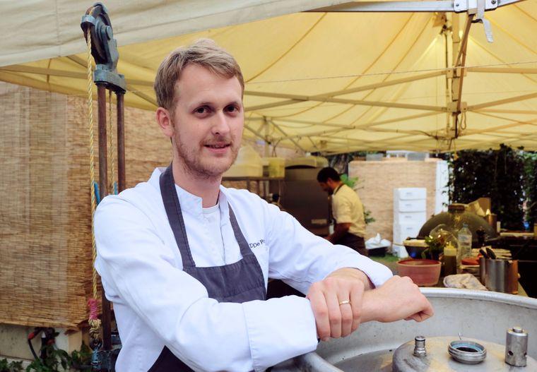 Davy, Chefkoch des Volta. aus Gent