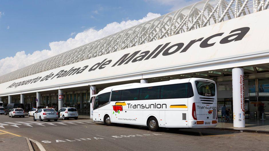 Flughafen Palma de Mallorca.