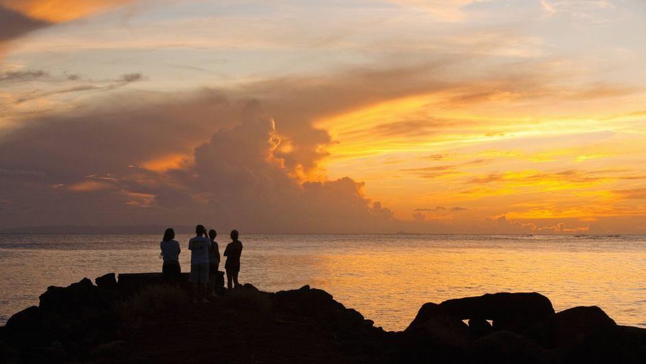 Der Sonnenuntergang auf Ni'ihau: Dieser Anblick wird nur wenigen gewährt.
