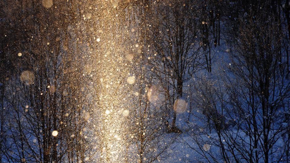 An einem Wasserfall im Bundesstaat New York hat es sogenannten Diamantenstaub geregnet. (Symbolfoto)