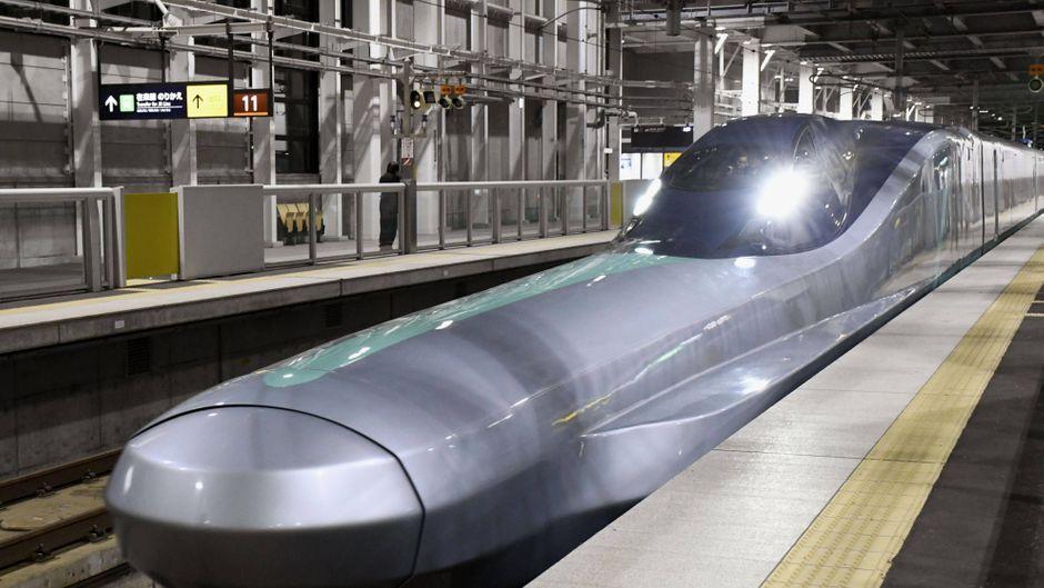 Prototype von Japans neuen bullet Zug. (Symbolbild)